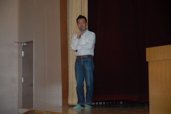 マスターズ甲子園の説明・報告(森井代表)